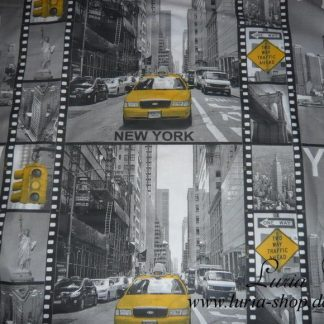 Stoff Baumwolle New York digital print 0,60m