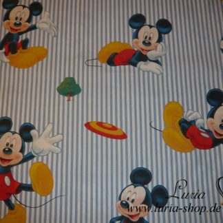 Stoff Baumwolle - Mickey Mouse Lizenzstoff